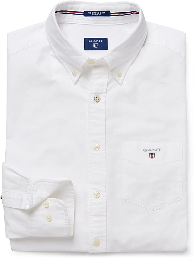 GANT The Oxford Shirt Reg BD Camicia Uomo