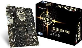 Biostar TB360-BTC PRO Core i7/i5/i3 LGA1151 Intel B360 DDR4 12 GPU Mining Motherboard