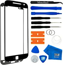 MMOBIEL Front Glass Replacement Compatible with Motorola Moto G4 (Black) Display Touchscreen incl Tool Kit