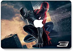 Hard Case for MacBook Pro 15 inch with Retina Display Model A1398 - AQYLA Smooth Touch Matte Plastic Rubber Coated Protective Shell Cover - Spiderman 6