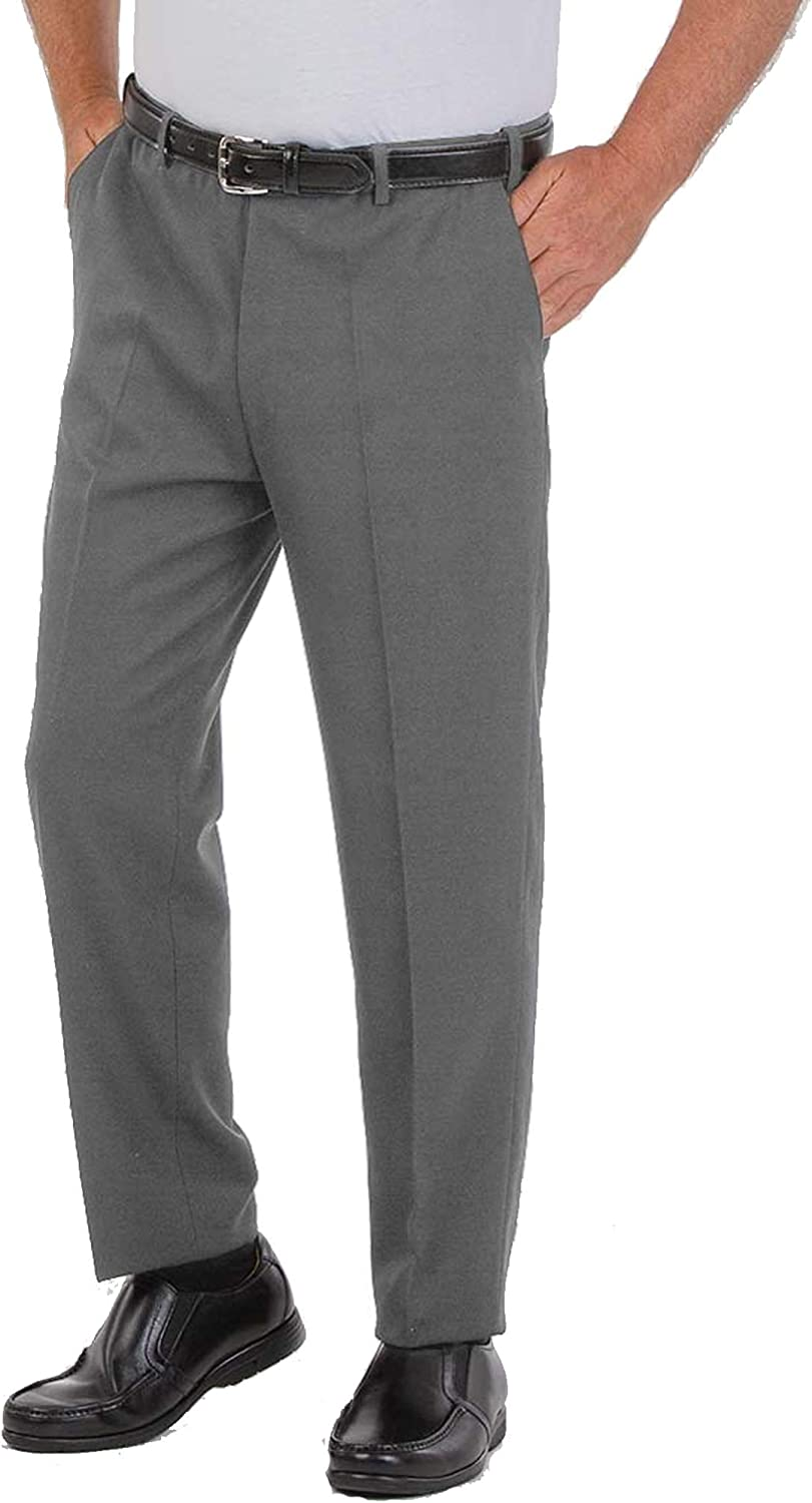 Directly managed Omaha Mall store Men's Quality Plus High Waist Business Trousers Pants Off Casual