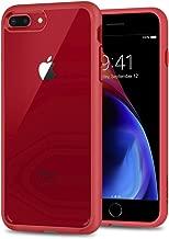 Spigen Ultra Hybrid [2nd Generation] Designed for Apple iPhone 8 Plus Case (2017) / Designed for iPhone 7 Plus Case (2016) - Red