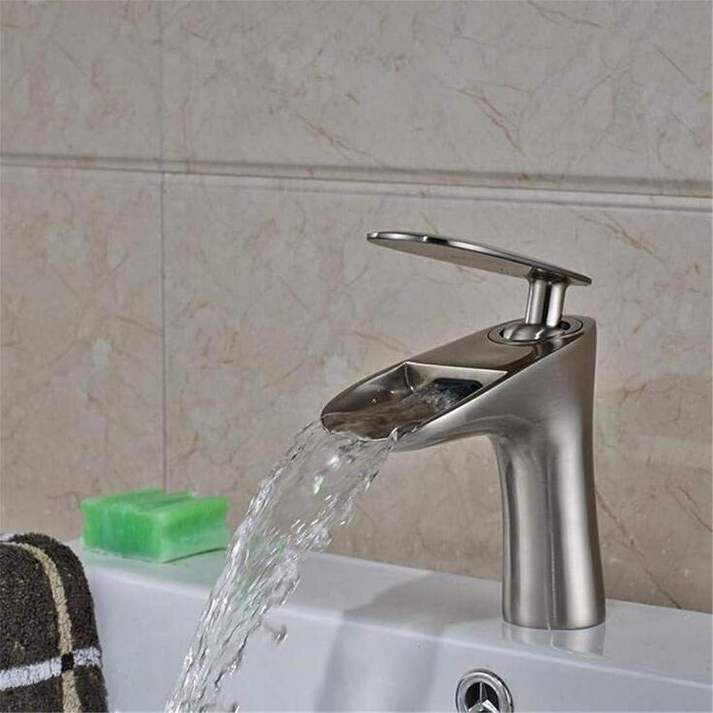 Faucet Luxury Plated Modern Faucet Faucet Washbasin Mixer Short Bathroom Sink Faucet One Handle Single Hole Mixer Taps