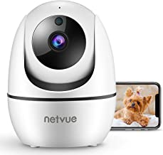 Dog Camera, Netvue 1080P FHD 2.4GHz WiFi Pet Camera , Indoor Security Camera for Pet/Baby/Nanny, AI Human Detection, Night...