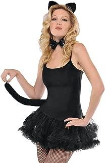 Cat Accessory Set - Adult, Black, One Size