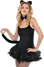 amscan Cat Accessory Set - Adult, Black, One Size