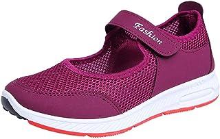 Zapatillas Deportivas de Mujer - Talla 35 a 41 - Casual Verano Transpirables Zapatos de Deporte con Plataforma - Fitness G...