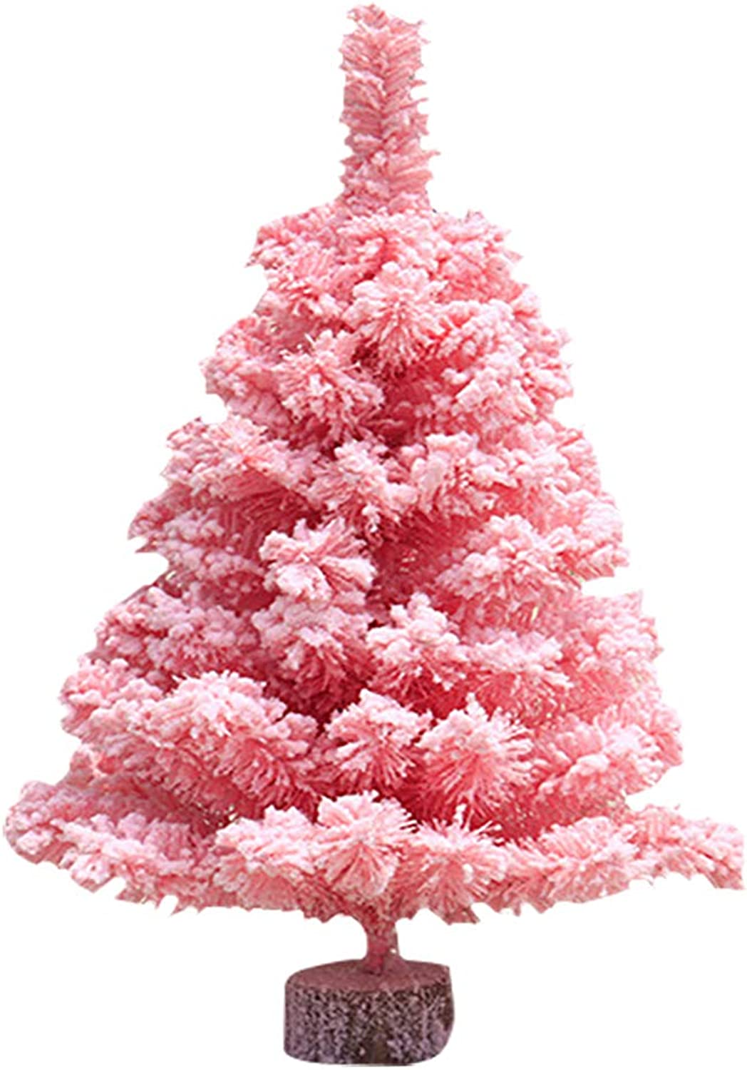 Joyibay Artificial Christmas Tree Creative Flocking Christmas Pine Tree Xmas Decoration