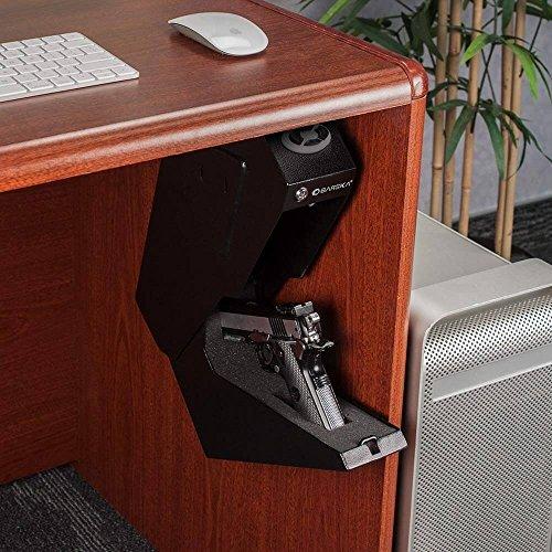BARSKA Steel Handgun Safe Pistol Desk Drawer Security Box Quick Access