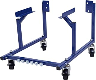 PARTS-DIYER 1000lb Auto Engine Cradle Stand Fit for Ford Dolly Mover Repair Rebuild w/Wheel