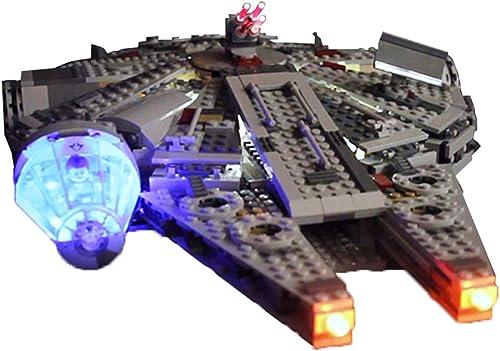 Searchyou Luz LED Light Set Compatible con Lego 75192 - Star Wars Millennium Falcon Ultimate Collector Series (No Incluye el Modelo de Lego)