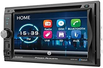"""Power Acoustik PD-625B 6.2"""" Incite Double-DIN in-Dash Detachable LCD Touchscreen DVD Receiver with Bluetooth"""