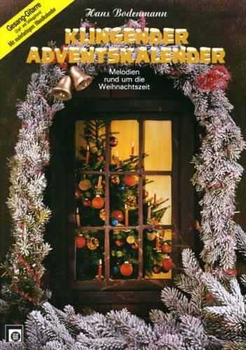 Klingender Adventskalender, Gitarre und Gesang