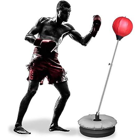 Innolife Saco De Boxeo Con Soporte Para Niños Y Adolescentes Con Altura Ajustable De 48 A 58 Pulgadas Para Entrenamiento Y Alivio Del Estrés Sports Outdoors