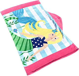 Fbx Childrens Bathrobes Quick-dry Microfiber Shawl Beach Towel With Hat Home