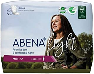 Abena Light Premium Incontinence Pad, 48 Count