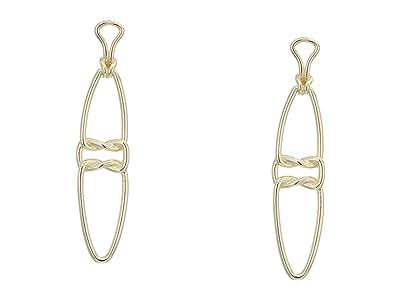 Kendra Scott Fallyn Linear Earrings (Gold Metal) Earring