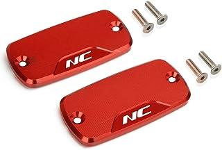 Motorrad Vorne Bremsflüssigkeitsbehälter Deckel für Honda NC700 S/X NC750 S/X Alle Jahre Rot