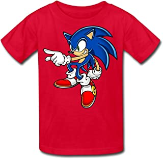 Kid's 100% Sonic Art Assets Dvd Sonic The Hedgehog 16 Quotes T-Shirt