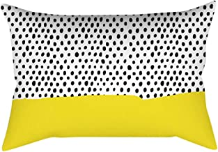 YWLINK 1PC Amarillo Rectangular Moda Simple Vendimia Funda ...