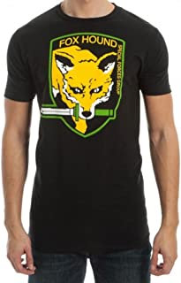 Metal Gear FOX HOUND Special Forces Group Men's T-Shirt, X-Large