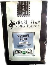 Charleston Coffee Roasters Organic Dark Roast Signature Blend 2 Lb Whole Bean