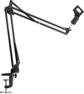 InnoGear Microphone Suspension Mic Clip Adjustable Boom...