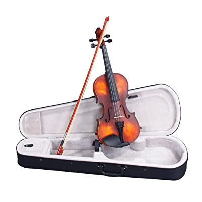 Lovinland 4/4 Classic Solid Wood Violin Case Bo...