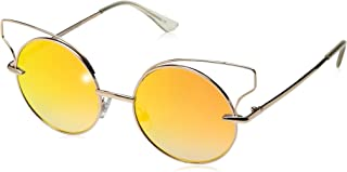 Item 8 Sm.1 Round Gold Women's Designer Sunglasses by Foster Grant