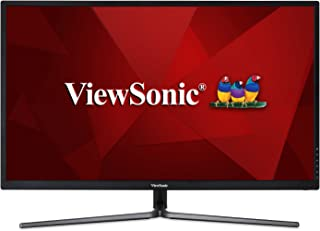 ViewSonic VX3211-2K-MHD 32 Inch IPS WQHD 1440p Monitor with 99% sRGB Color Coverage HDMI VGA and DisplayPort,Black
