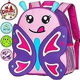 """Best 3d Backpacks - Preschool Backpack, 12"""" Butterfly Toddler Backpacks for Girls Review"""