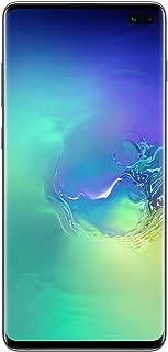 "Samsung Galaxy S10 Plus 128GB, 8GB Ram, Dual Sim 6.4"" HD+ AMOLED Display, 4G LTE Unlocked Smartphone (Prism Green)"