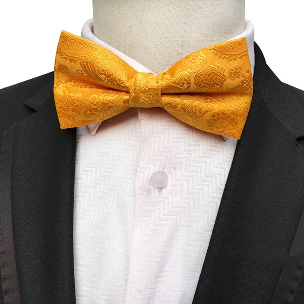 JJZXC Men's Bow Tie Gold Bowtie 35% OFF Wedding Dot Business Bowknot Blu Sales of SALE items from new works