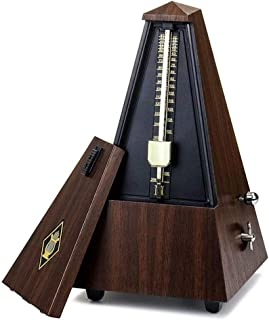 bulingbulingseason Vintage Tower Type Guitar Metronome Bell Ring Piano Violin Rhythm Mechanical Pendulum Metronome