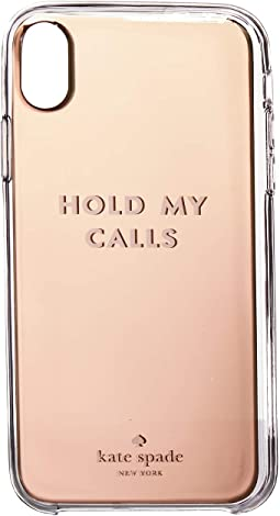 Hold My Calls Phone Case for iPhone® XS