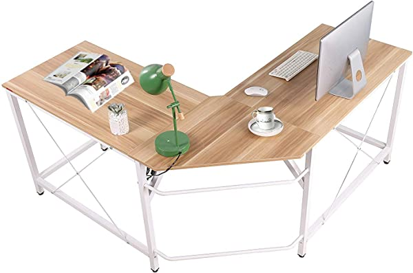 L Shaped Desk Computer Office Desk PC Laptop Table Study Writing Table Workstation For Home Office
