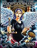 Gods & Goddesses - Fantasy Art Adult Coloring Book
