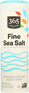 365 by Whole Foods Market, Salt Sea Crystals Fine, 26.5 Ounce