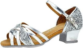 Women Dancing Sandals, NDGDA Ladies Rumba Waltz Prom Ballroom Latin Salsa Dance Sandals Shoes