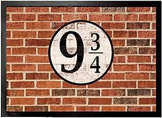 1art1 Brick Walls Door Mat Floor Mat - Platform Nine and Three-Quarters (28 x 20 inches)