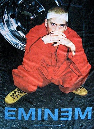 Bandera de Eminem Póster Bandera sitting
