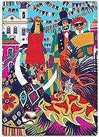 Postais do Brasil - Festas Típicas - Quebra Cabeça 500 peças Nano