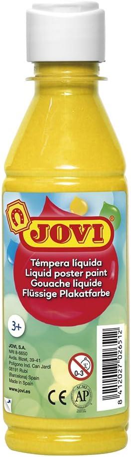 Jovi 50202 -Tempera Liquida 250 ml -Amarillo