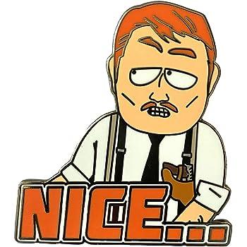 Amazon Com Nice South Park Collectible Pin Clothing