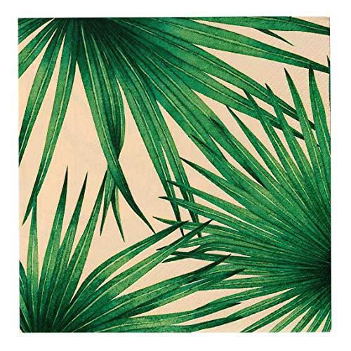 Talking Tables - Pack de 20 servilletas, 33 cm, 3 capas, estilo tropical, mexicano, para barbacoa, picnic o fiestas en el jardín