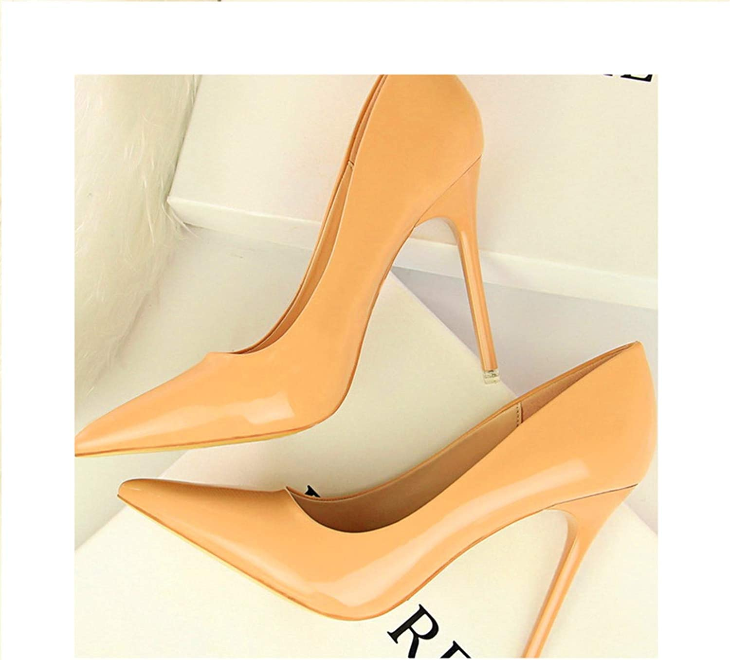 Fashion Women Pumps High Heels Shallow Ladies Office shoes Pointed Toe shoes