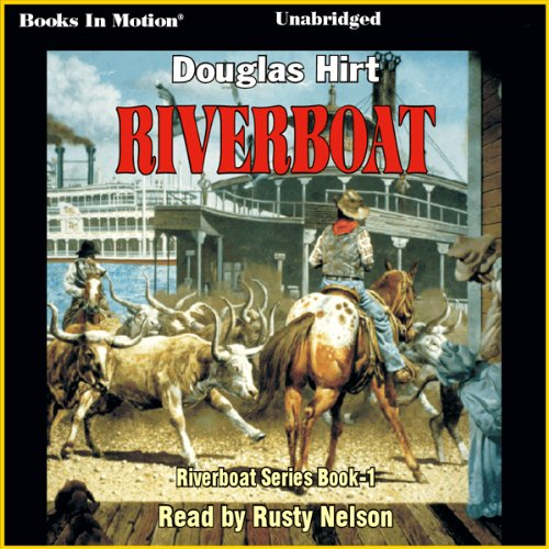 Riverboat audiobook cover art