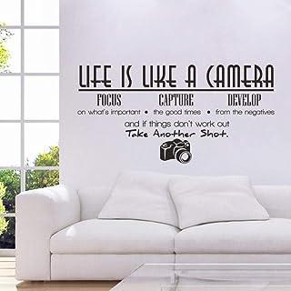 Amazon.es: vinilos decorativos frases