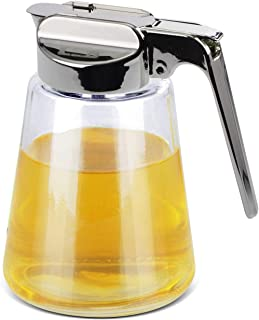 Glass Jar - Syrup or Honey Dispenser