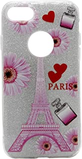 Margoun for Apple iPhone 7 Sparkle Bling With Soft TPU Scratch Resistant Case